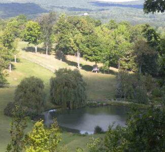 Copake Lakefront 119 acres Private Estate 12523
